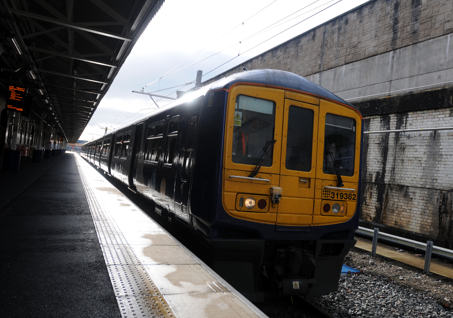 LETTER: Unimpressed by first journey on electric trains