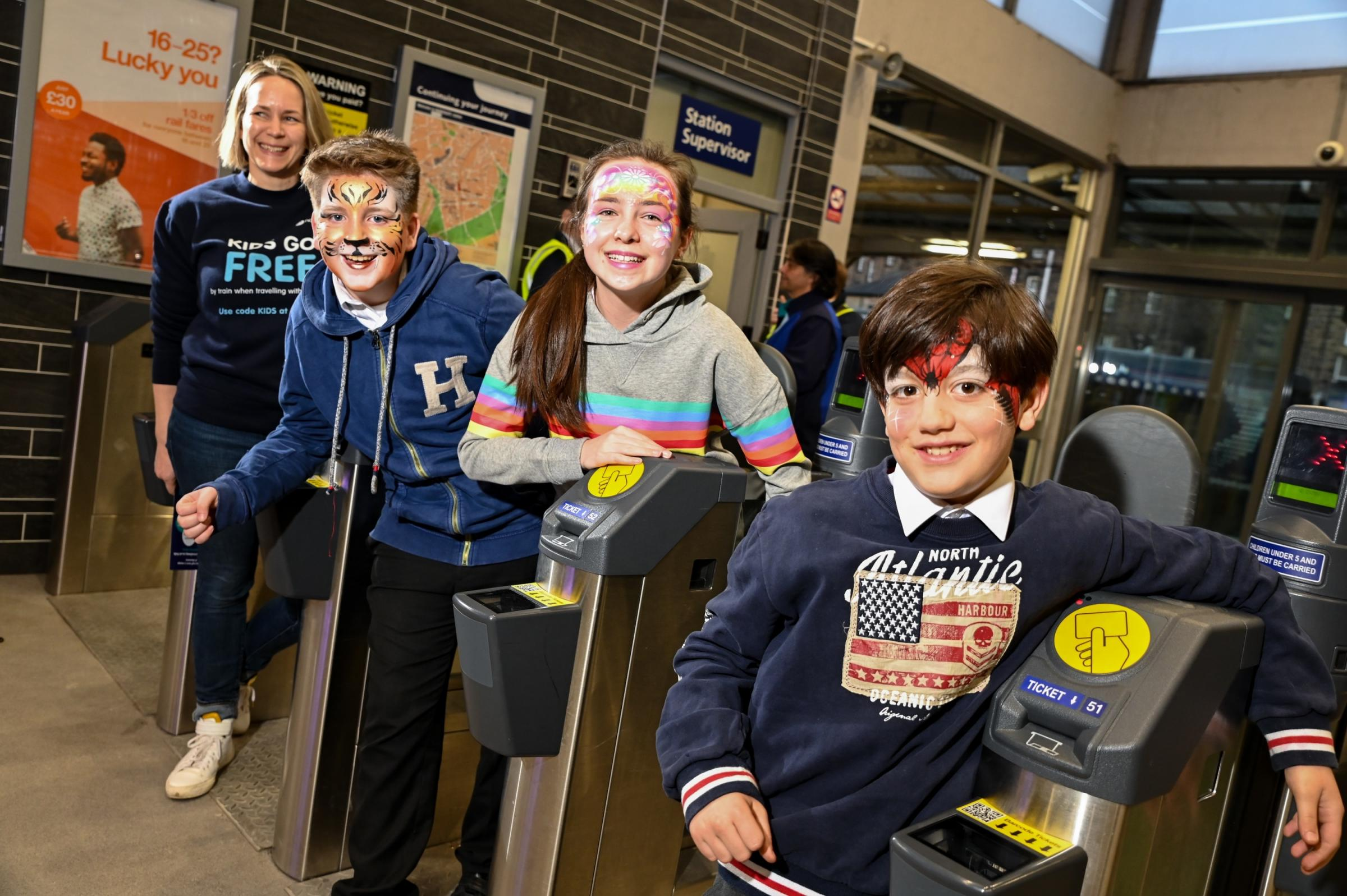 Kids Go Free campaign on Northern this half term. Picture: Simon Dewhurst