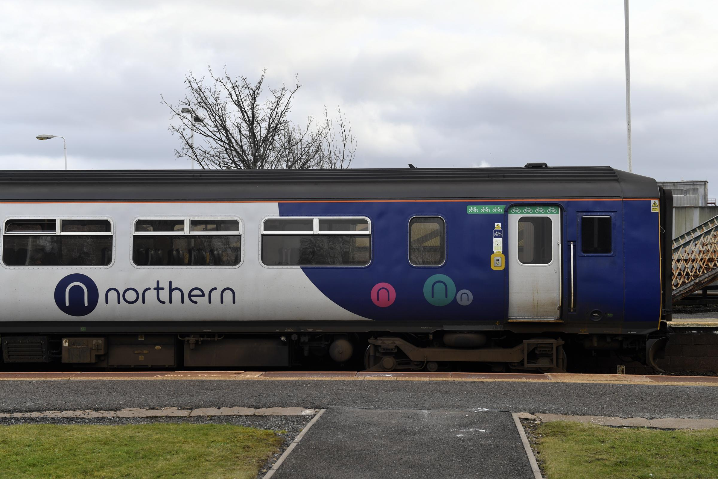 Some lines are blocked due to a disturbance on a train between Preston and Bolton