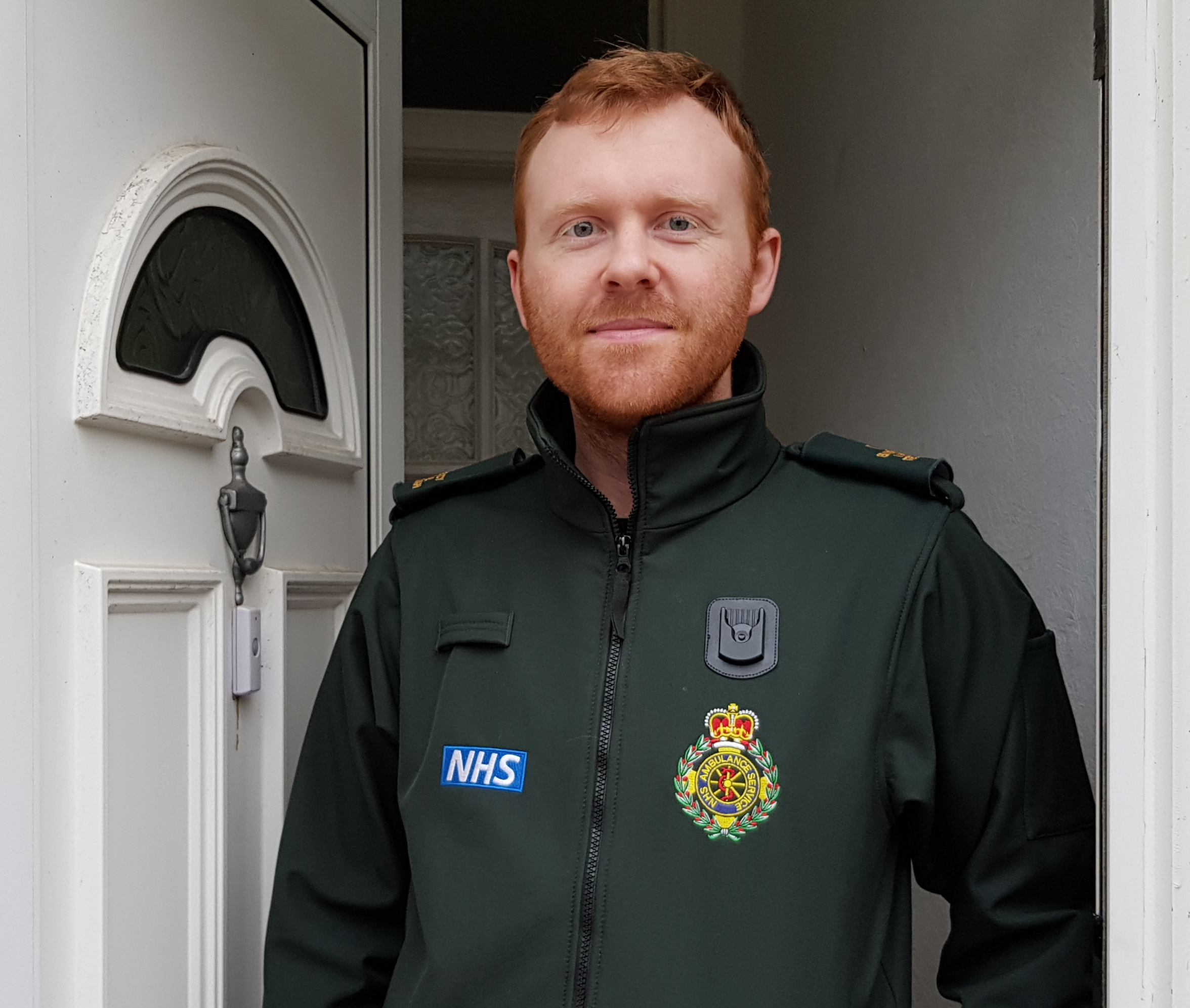 Ambulance technician Alex Reynolds treated the patient in Crown Lane, Horwich