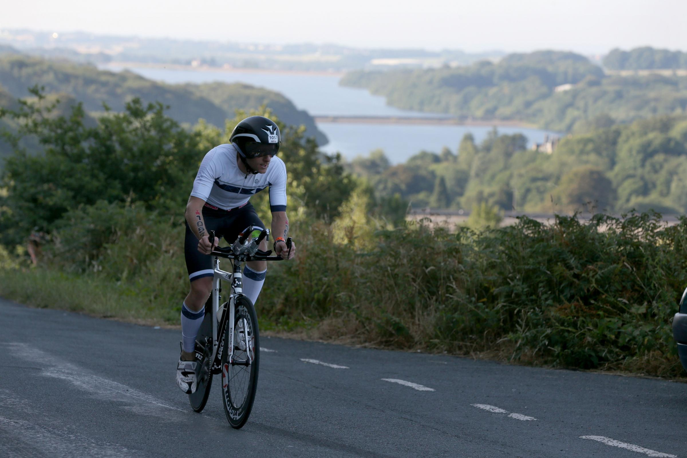 CYCLIST: A competitor in last year's gruelling event