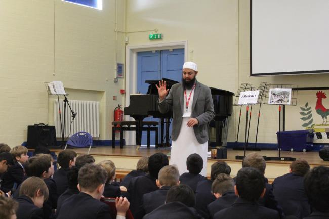 Imran Kotwal from Muslim Learner Services at Bolton School