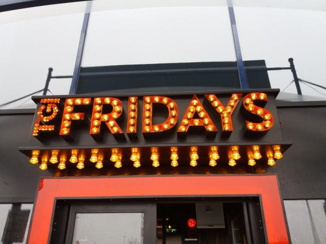 TGI Friday Middlebrook. Picture: Middlebrook