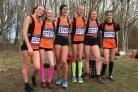 YOUNG GUNS: Horwich youngsters with the Greater Manchester under-15s at the Inter-Counties cross country. Picture by Andy Townsend