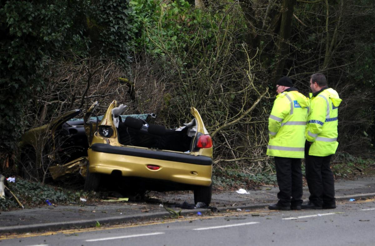 police appeal for information after two seriously injured after car