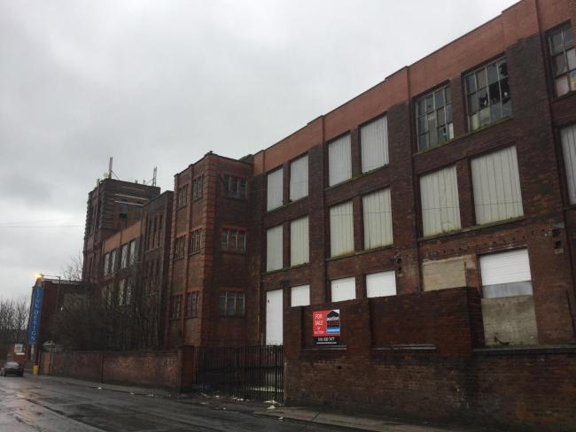 HISTORIC: Century Mill in George Street, Farnworth