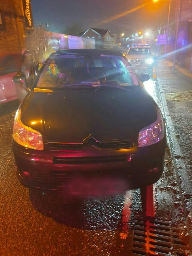 Stolen car discovered with false licence plates   The Bolton News