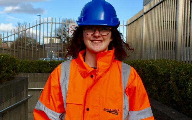 Bolton-born Amy Clare is leading Network Rail's Bolton Station refurbishment plan