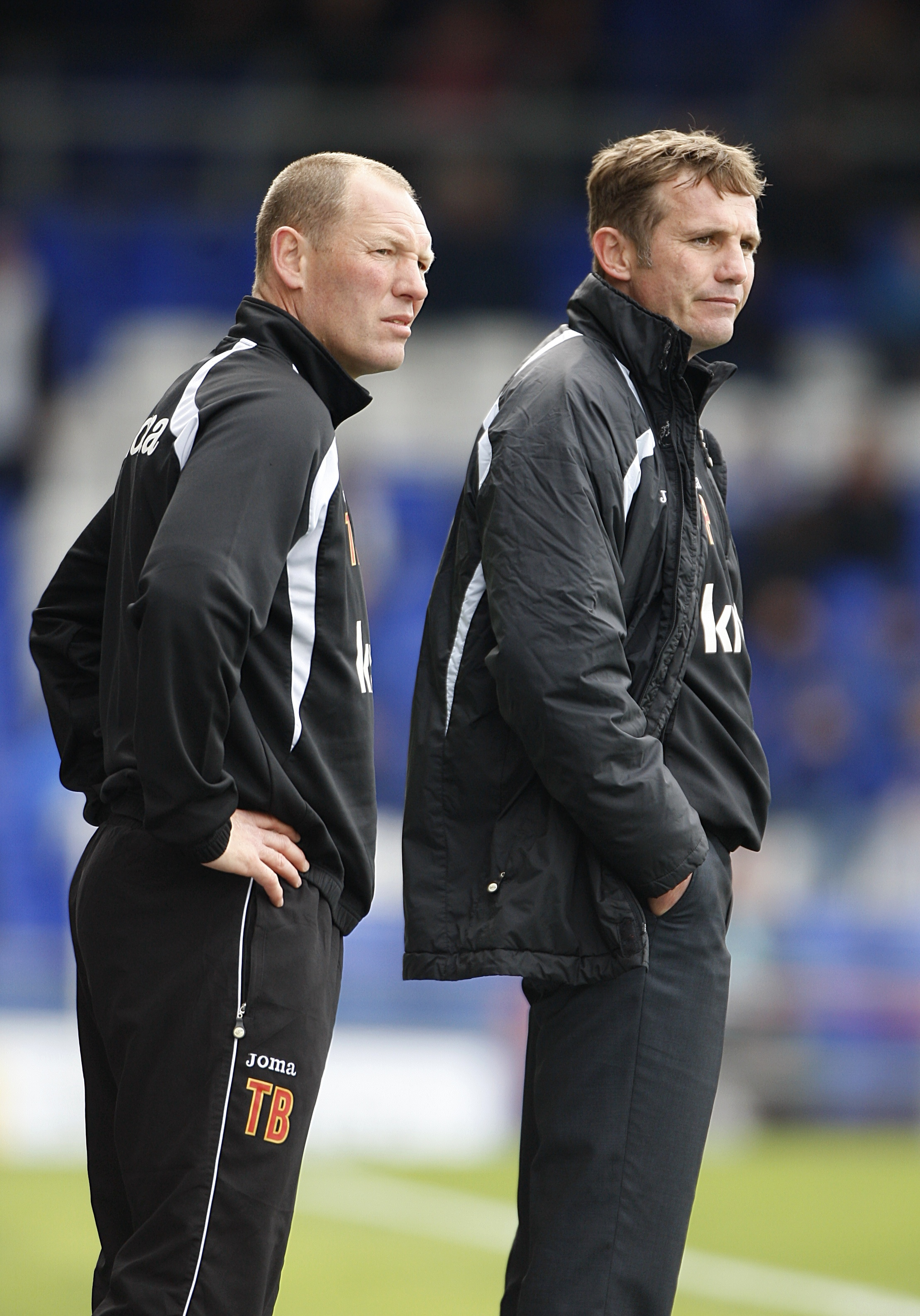 Tim Breacker, left, has not been paid for three months at Bolton Wanderers