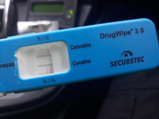 Driver arrested after failing roadside drug test | The