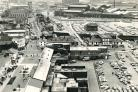 Bolton town centre from above back in 1980