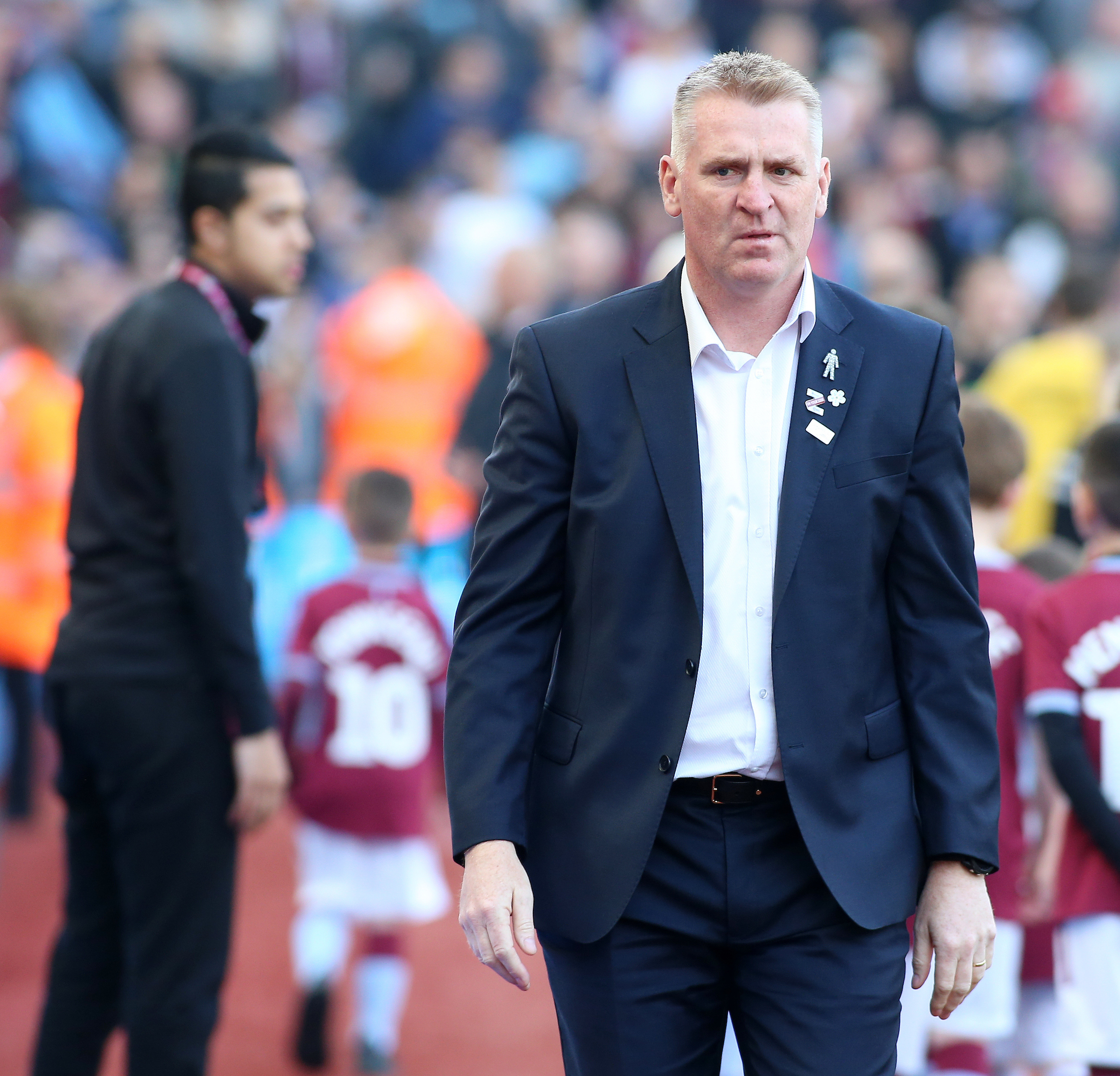 Aston Villa boss Dean Smith has taken the club to the verge of the play-offs