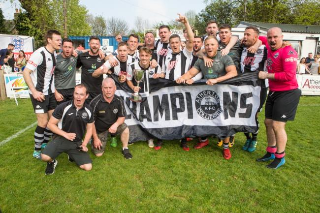 Atherton Colls are building up to life in the Evo-Stik Premier Division