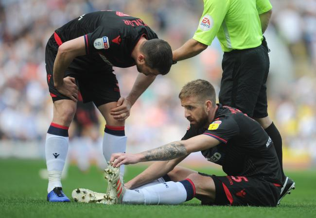 Mark Beevers damaged his hamstring in the 2-0 defeat at Blackburn Rovers