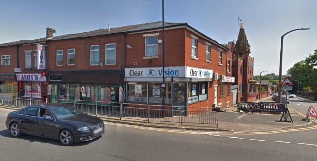 Clear Vision opticians in St Helens Road