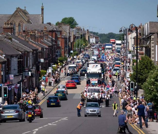 CARNIVAL: The Horwich Carnival parade has been a longtime tradition