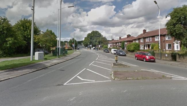 Chorley Old Road, from the junction with Moss Bank Way. Picture: Google Maps