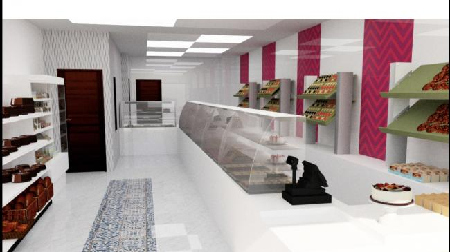 VISUAL: an artist's impression of the proposed Shahi Sweets and Bakers store in Astley Bridge