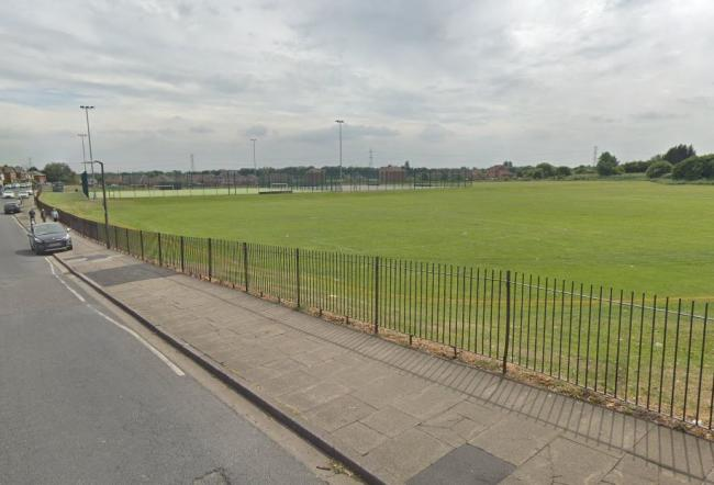 Playing fields off Lucas Road in Farnworth