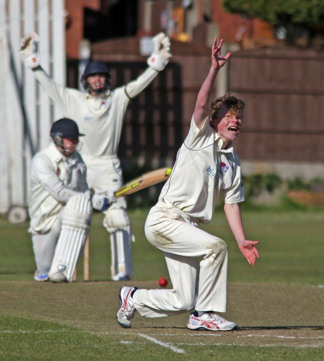 FINE FIGURES: Horwich RMI bowler Jack Berry took seven wickets against Farnworth Social Circle