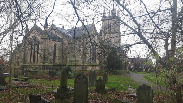 The Bolton News: St Peter's Church in Halliwell