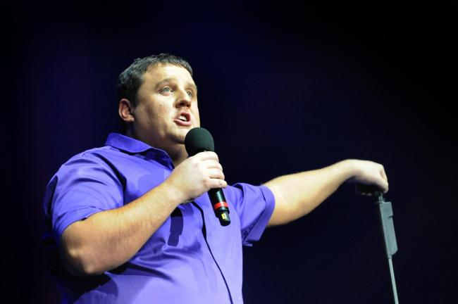 Peter Kay at the MEN Arena..Picture by Steve Holt Newsquest Bolton Ltd, Tuesday April 27 2010..
