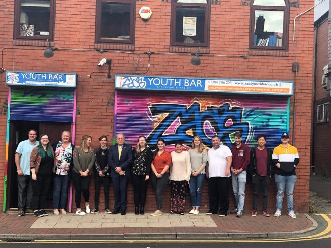 COURSE: Connect will be run from Zac's Youth Bar in Market Street, Farnworth